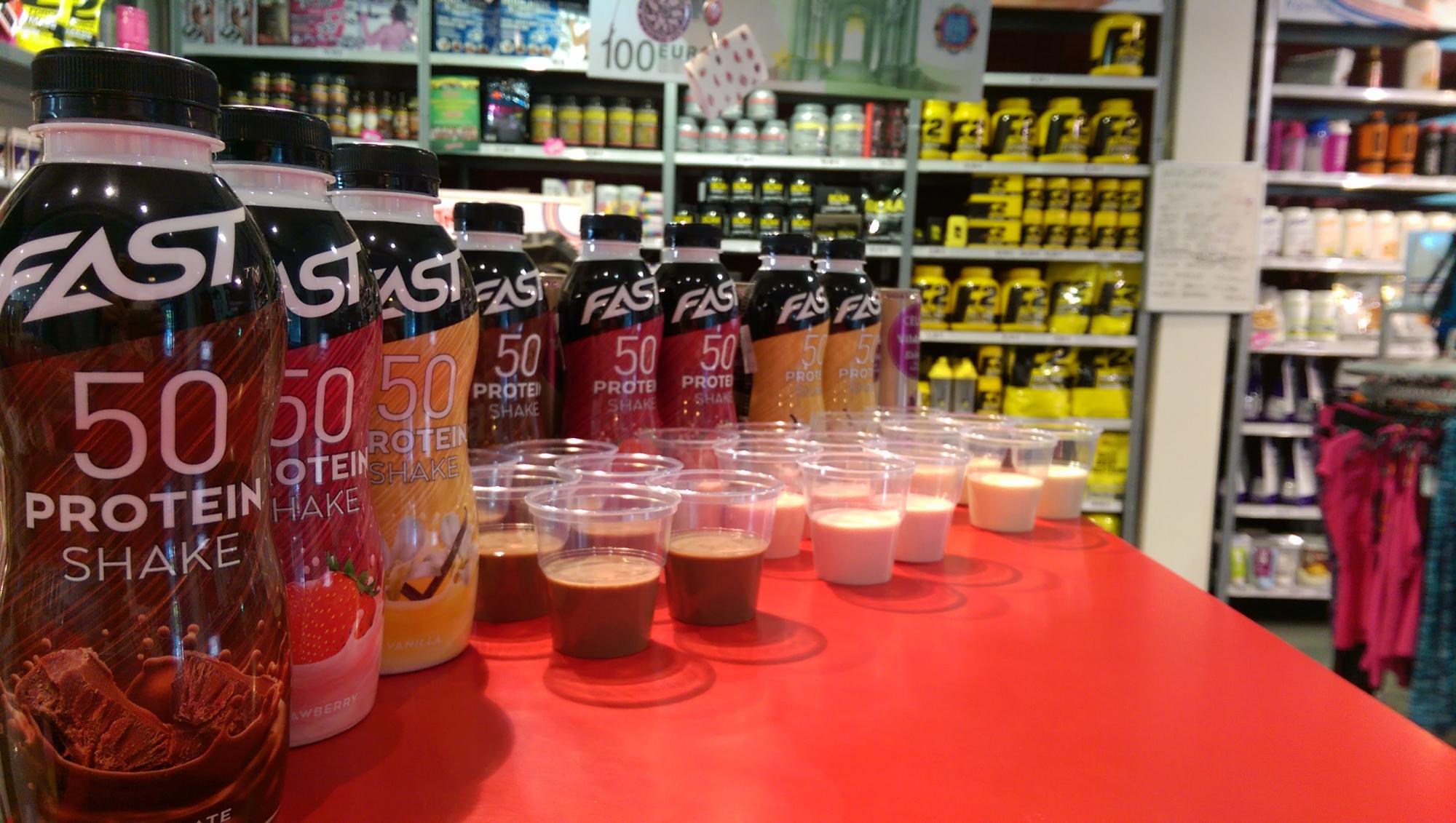 fast 50 protein shake